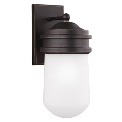 Breakwater Bay Irving 1 Light Outdoor Sconce
