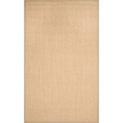 Hillsborough Maize / Linen Area Rug Rug Size: 5 x 8