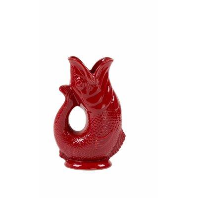 Flintwood Pitcher Color: Cranberry, Size: 38 oz