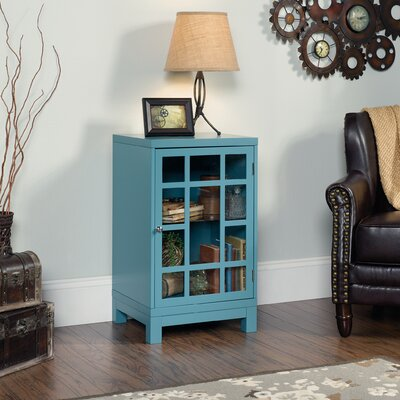 Woodcroft Display Cabinet Finish: Moody Blue