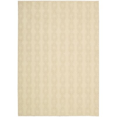 Harkness Beige Area Rug Rug Size: Rectangle 53 x 75