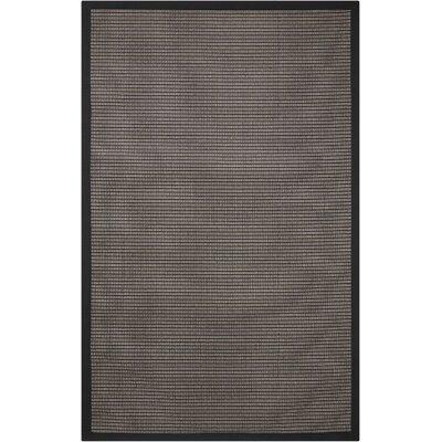 Stephenson Black Pearl Indoor/Outdoor Area Rug Rug Size: 8 x 10