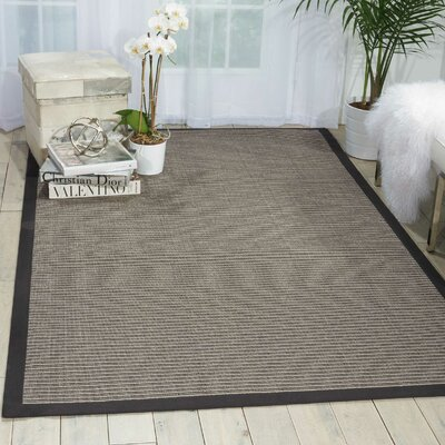 Stephenson Chocolate Indoor/Outdoor Area Rug