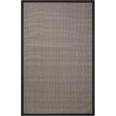 Stephenson Chocolate Indoor/Outdoor Area Rug Rug Size: 5 x 8