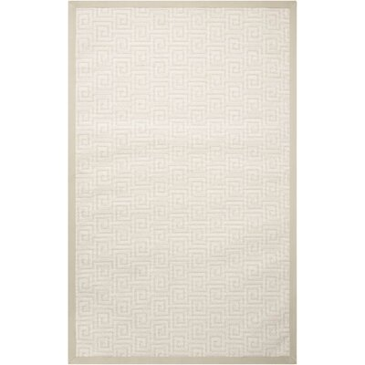 Kennett Seashell Indoor/Outdoor Area Rug Rug Size: Rectangle 9 x 12