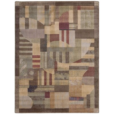 Greenwich Hand-Woven Brown Area Rug Rug Size: Rectangle 56 x 75