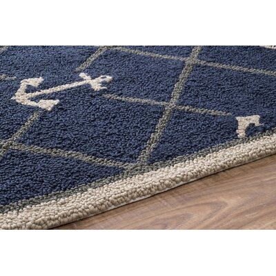 Dolmen Letter Doormat Mat Size: Rectangle 3 x 6, Letter: C