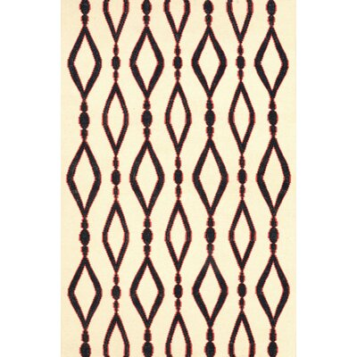 Hazeltine Black Rakid Rug Rug Size: Rectangle 5 x 8