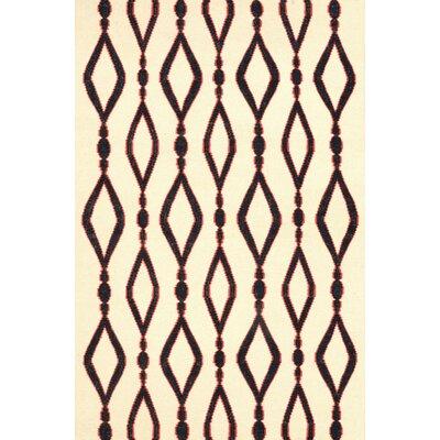 Hazeltine Black Rakid Rug Rug Size: 5 x 8