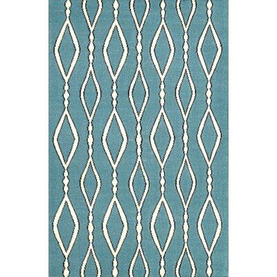 Hazeltine Blue Rakid Rug Rug Size: 5' x 8'