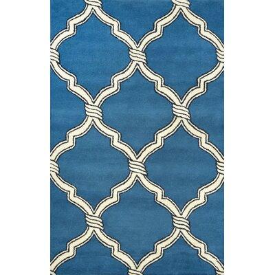 Hazeltine Blue Risos Rug Rug Size: 8'6