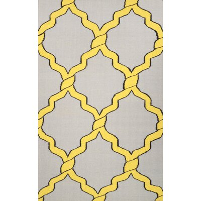 Hazeltine Gold Radene Rug Rug Size: Rectangle 76 x 96
