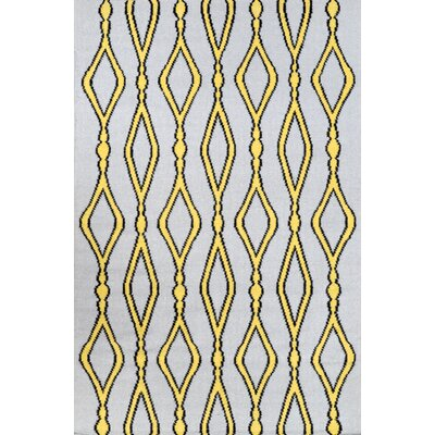Hazeltine Gold Rakid Rug Rug Size: Rectangle 76 x 96