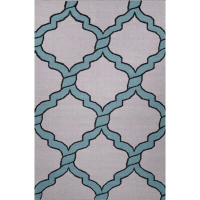 Hazeltine Light Blue Radene Rug Rug Size: 76 x 96