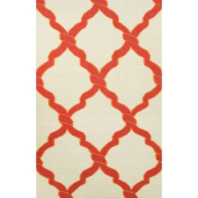 Hazeltine Red Radene Rug Rug Size: Rectangle 76 x 96