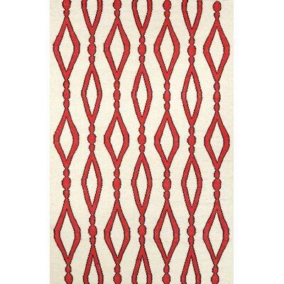 Hazeltine Red Rakid Area Rug Rug Size: 5 x 8