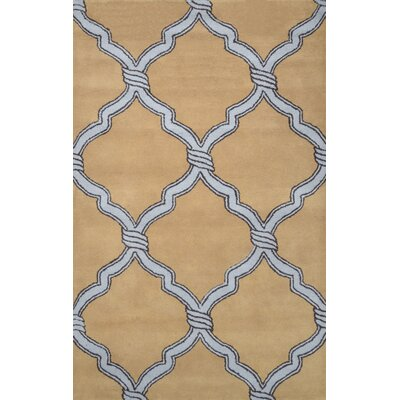 Hazeltine Tan Risos Rug Rug Size: Rectangle 5 x 8