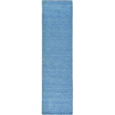 Foxfield Hand-Knotted Light Blue Area Rug