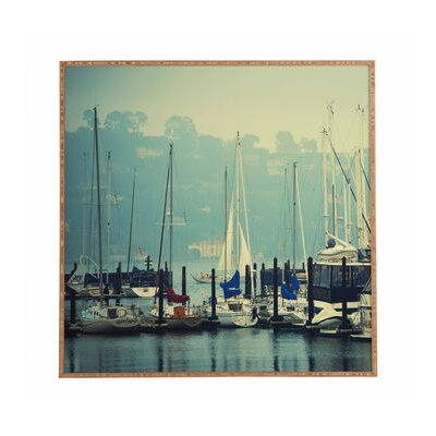 Yacht Club Framed Photographic Print Size: 12