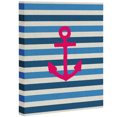 Breakwater Bay Stay 1 Graphic Art on Wrapped Canvas