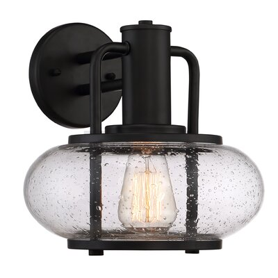 Breakwater Bay Tyson 1 Light Outdoor Sconce