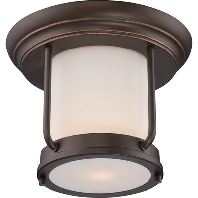 Breakwater Bay Tindall 1 Light Flush Mount