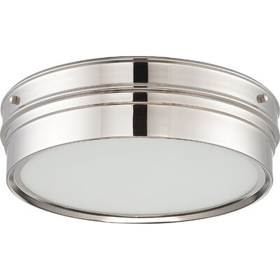Yorkshire 1-Light Flush Mount Finish: Polished Nickel