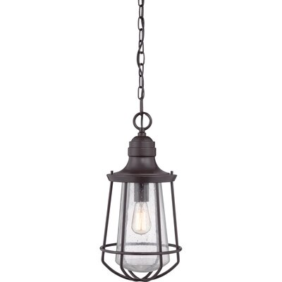 Breakwater Bay Windon 1 Light Outdoor Pendant