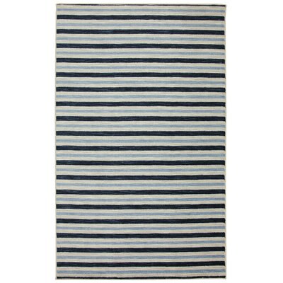Newell Blue Area Rug Rug Size: Rectangle 76 x 10