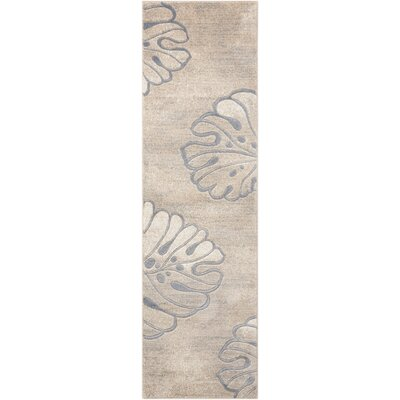 Southport Beige Area Rug Rug Size: Runner 22 x 76