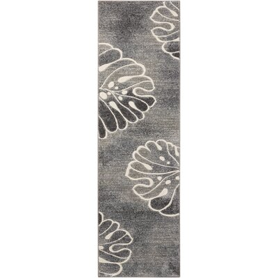 Brentford Gray Area Rug Rug Size: Runner 2'2