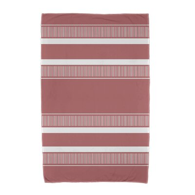 Dashing Stripe Beach Towel Color: Orange