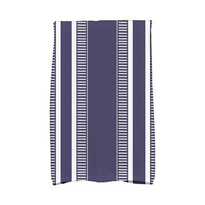 Ridgemoor Dashing Stripe Hand Towel Color: Navy Blue