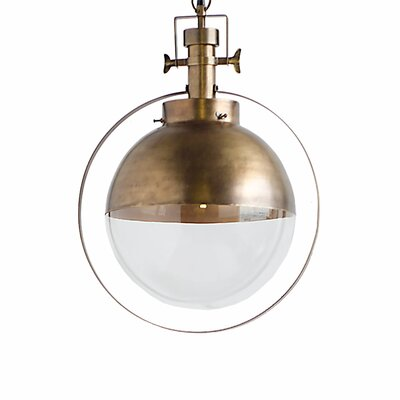 Mcgovern 1-Light Globe Pendant