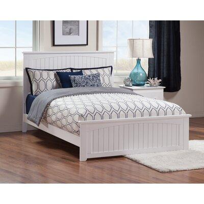 Oakmere Panel Bed Finish: White, Size: Full