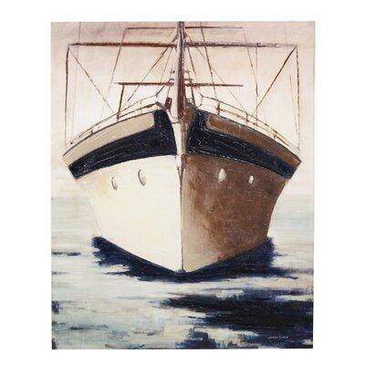 'High Seas Awaits' Painting Print on Canvas