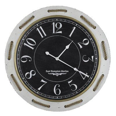 31.5 Round Cream Clock