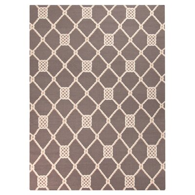 Highlands Brown/Cream Area Rug Rug Size: Rectangle 2 x 3