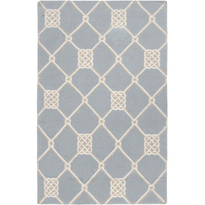Highlands Stormy Sea Blue Geometric Area Rug Rug Size: 2 x 3