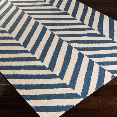 Breakwater Bay Highlands Beige/Teal Area Rug