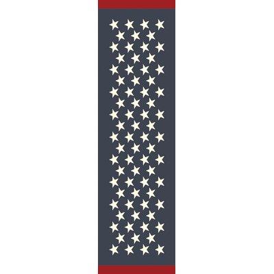 Walden Navy Indoor/Outdoor Rug Rug Size: 8 x 11