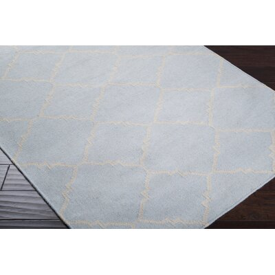 Highlands Hand-Woven Light Gray/Taupe Area Rug Rug size: 5 x 8