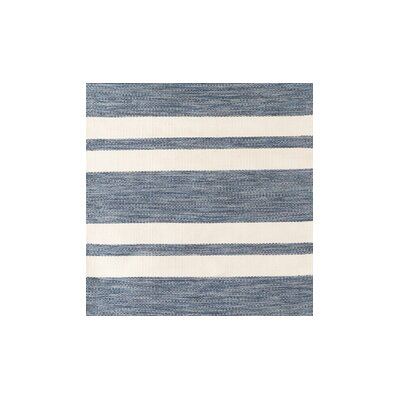 Breakwater Bay Winnwood Hand-Woven Blue Area Rug