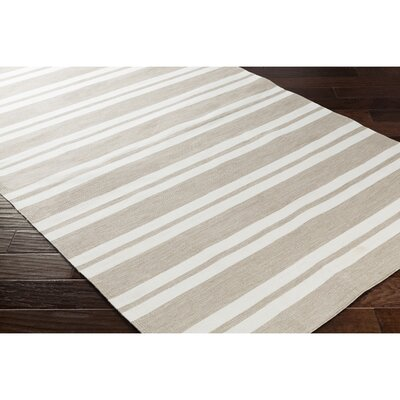 Breakwater Bay Winnwood Hand-Woven Brown Area Rug