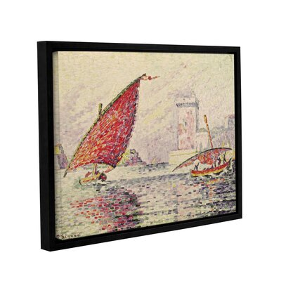 Fort Saint-Jean, Marseilles, 1907 by Paul Signac Framed Painting Print on Wrapped Canvas