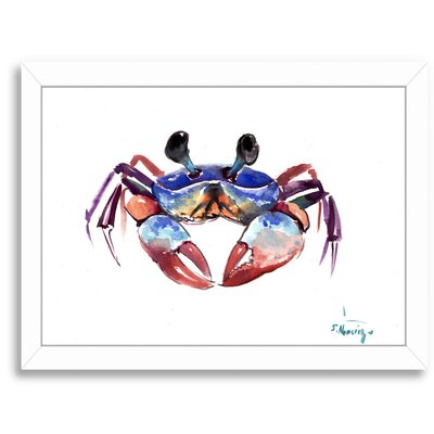 Crab 2 Framed Painting Print