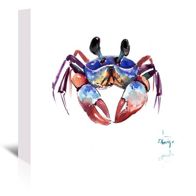 Crab 2 Painting Print on Wrapped Canvas