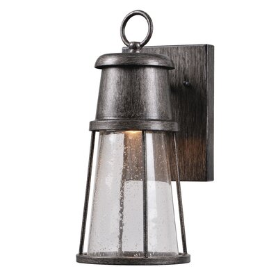 Colton 1-Light Outdoor Wall Lantern