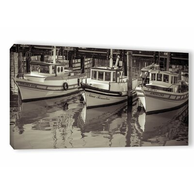 Three 3 Photographic Print on Wrapped Canvas