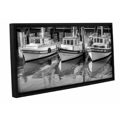 Three 1 Framed Photographic Print on Wrapped Canvas